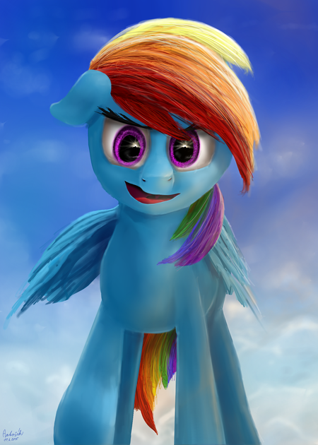 Rainbow Dash by Antošík