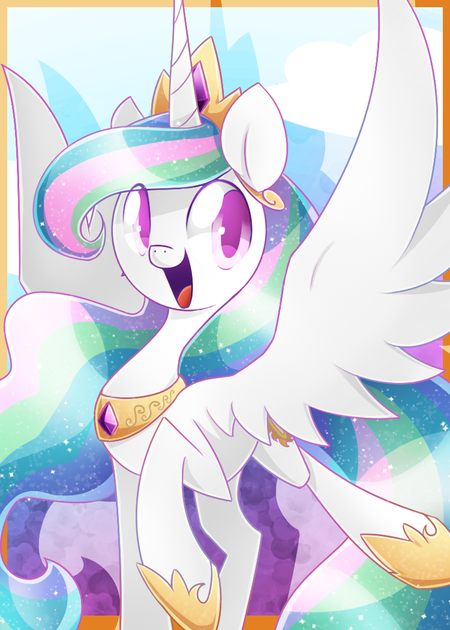 Princess Celestia by SilviShinyStar